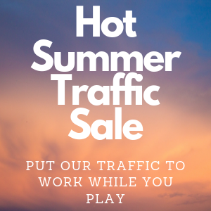 hot summer mlm web traffic sale